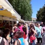 Un día en la feria del libro de Madrid