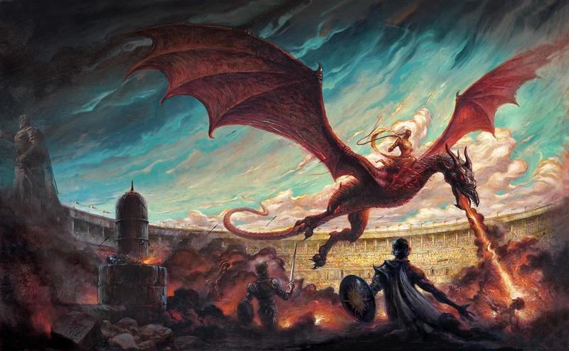 Danza de Dragones, la nueva entrega de Canción de Hielo y Fuego, a la venta el 22 de Junio
